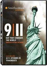 9/11: Day That Changed the World [DVD] Smithsonian Channel,  Martin Sheen NEW