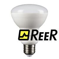 REER Lampadina R80 Led Luce Naturale Bianca Attacco E27 Risparmio Energetico 10W