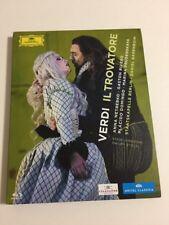 Verdi IL Trovatore Staatskapelle Berlin Daniel Barenboim Blu-Ray Disc