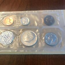 1964-P US Mint Silver  Proof Set in original govt packaging. 5 coins
