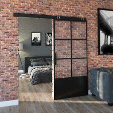 LOFT MOD 04- Schiebetür Komplettset Stahl Glas Industrial Farbauswahl