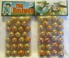 2 Bags Of The Rifleman Western TV Show Promo Marbles