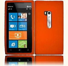Silicone Skin Case for Nokia Lumia 900 - Orange