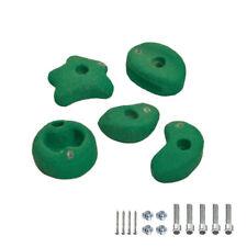 Wickey Mini Climbing stones climbing frame garden playhouse accessories green