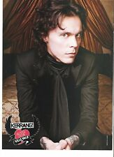 VILLE VALO (Him) Kerrang valentine magazine PHOTO/Poster/clipping 11x8 inches