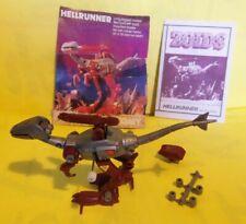 Hellrunner/Merda vintage 1985 Tomy red Zoid 100% complete