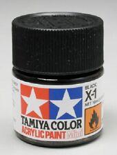Tamiya Acrylic X-1 Gloss Black Paint Jar 81501