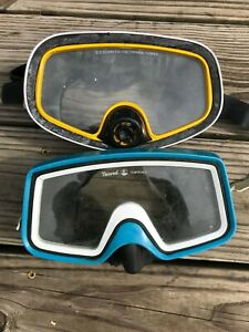Lot of 2 Tempered glass US Divers Nemrod Masks