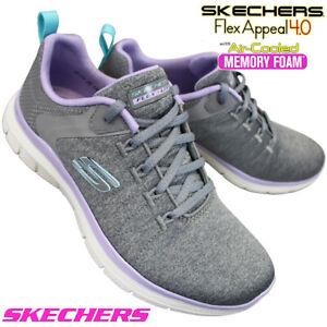 Skechers Women,s Flex Appeal 4 Air Cooled Memory Foam Trainer's Walking Shoe's
