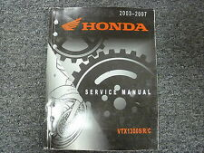 2003 2004 2005 Honda VTX1300S VTX1300R VTX1300C Motorcycle Service Repair Manual