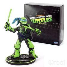 Nuevo Teenage Mutant Ninja Turtles Edición Limitada Figura Leonardo TMNT Oficial