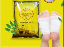 New 50pcs Heath Care Detox Foot Pad Cleasing Patch Made in Thailand Lanna