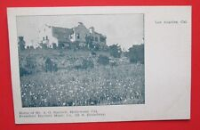 A.G. Bartletts Home President Music Co. Hollywood Los Angeles CA Postcard UDB