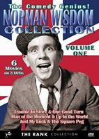 Norman Wisdom Comedy Collection Vol 1 [New DVD]