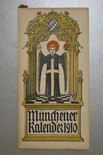 Münchener Kalender 1910, HERZOGTUM SACHSEN ALTENBURG, Bohlen Egloffstein Wedel