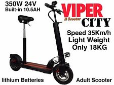 Electric scooter 450W 36V Lithium Batteries, Viper City New 2016 Model, 18KG