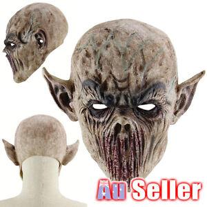 Party Horror Mask Halloween Scary Full Face Mask Zombie Skeleton Costume Horror