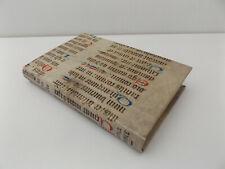 15th c. ILLUMINATED Manuscript VELLUM Binding BOOKBINDING Anatole France FRENCH