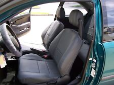 HONDA CIVIC 1992-1996 IGGEE S.LEATHER CUSTOM FIT SEAT COVER 13COLORS AVAILABLE