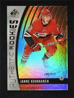 2017-18 UD SP Game Used Authentic Rookies Rainbow #92 Janne Kuokkanen /219