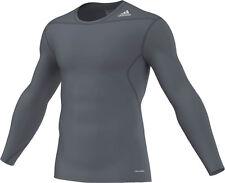 adidas Techfit Base Longsleeve Blei-grau Sweatshirt D82059 XL
