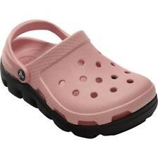 Crocs Girls Duet Sport Petal Pink/Java Size J1 Brand New No Tags!