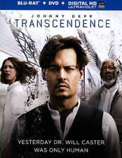 Transcendence (Blu-ray/DVD, 2014, 2-Disc Set, Includes Digital Copy UltraViolet)