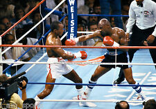 SUGAR RAY LEONARD vs MARVIN HAGLER BOXING FIGHT 8x10 PHOTO