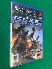 PS2 - GI JOE LA NASCITA COBRA + Manuale , Game Playstation PAL ITA NUOVO !!! NEW