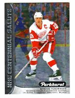 2016-17 UD Parkhurst CENTENNIAL SALUTE STEVE YZERMAN Red Wings Retail Only HOF