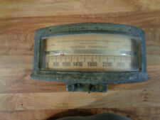 ANTIQUE Brown Instrument Company Electric Pyrometer 0-3000 Degrees Fahrenheit
