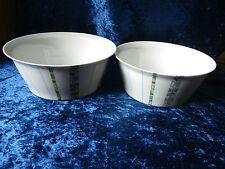 Rosenthal Grunewald 4007 2 Schüsseln Porzellan Design Schüssel Servierschüssel