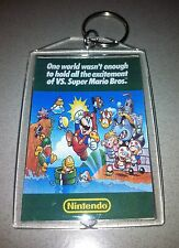 Nintendo VS SUPER MARIO BROTHERS Arcade Game Flyer Key Chain
