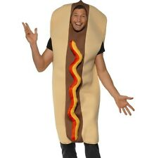 Hot Dog Fancy Dress Costume Stag Party One Size Food Outfit by Smiffys New