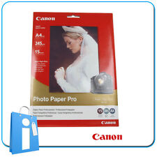 Papel Fotográfico Brillo Photo Paper Pro Super Gloss Canon 20 Hojas 245g 10x15cm