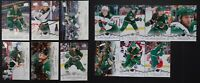 2018-19 Upper Deck UD Minnesota Wild Series 1 & 2 Team Set 13 Hockey Cards