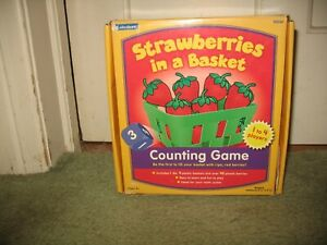 Lakeshore Strawberries in a Basket Counting Game