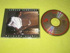 Gerald Albright Bermuda Nights – Rare 1988 CD Album Smooth Jazz MINT