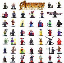 LEGO MINIFIGURES AVENGERS ENDGAME SUPER HEROES MARVEL DC COMICS CUSTOM NUOVE