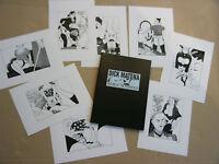 Portfolio mit 8 erotischen Siebdrucken von Dick Matena: House of the rising sun