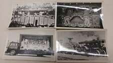 Group of 4 Fairground Organs Repro Real Photo Antique Non-PC Back J46324