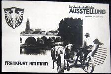 GERMANY~1948 FRANKFURT AM MAIN ~ LANDWIRTSCHAFTLICHE AUSSTELLUNG ~ RPPC