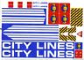 LEGO City Aufkleber / Sticker aus Set 7994 Großer Hafen mit Kran