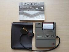 SHARP CE-126P Printer and Cassette Interface, Drucker f. PC Pocket Computer #599