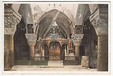 CARTE POSTALE JERUSALEM CHAPELLE DE STE HELENE
