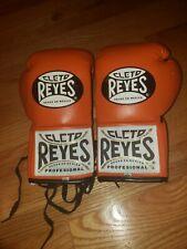 Cleto Reyes  Professional Boxing Fight Gloves - Orange 8oz