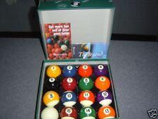 """*Pro* Snooker Eight Ball Billiard Pool Ball Set  2 1/8"""""""
