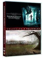 PACK EXPEDIENTE WARREN DVD 1 + 2 EL CASO ENFIELD + THE CONJURING ( SIN ABRIR )