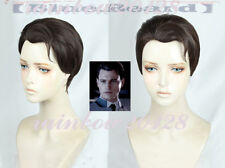 Detroit Become Man Connor Short Anime Cosplay Wig
