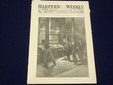 1883 DECEMBER 15 HARPER'S WEEKLY MAGAZINE - A. B. FROST TRAMP HIS DEEDS - J 943
